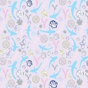 Pastel Shark & Sea