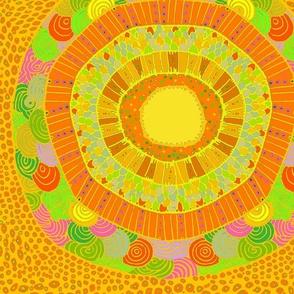 Southwest Del Sol - Citrus Yellow