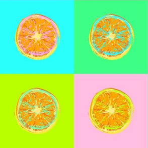 Popart Orange
