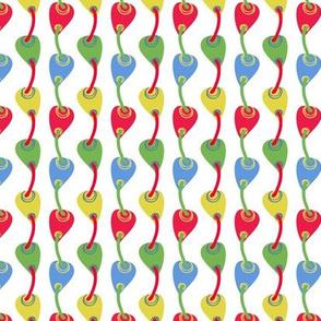 Multicolor petal weave