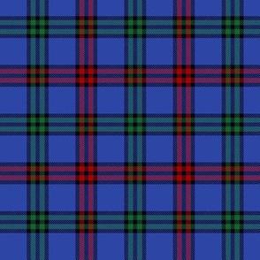 """Montgomerie tartan -  3"""" red / green / true blue"""