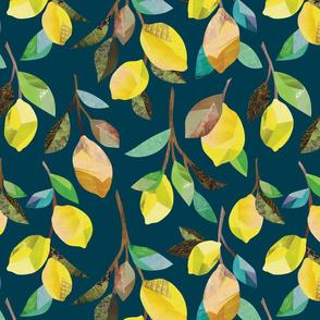 Lemon Branches {Midnight}