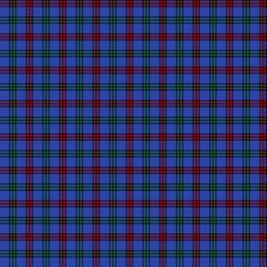 """Montgomerie tartan -  1"""" red / green / true blue"""
