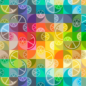 citrus and circles