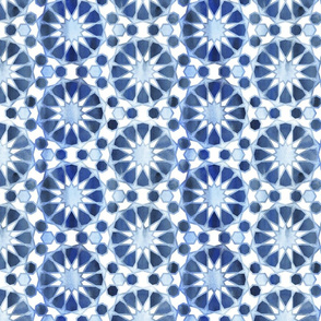 Farah tile Light Blue