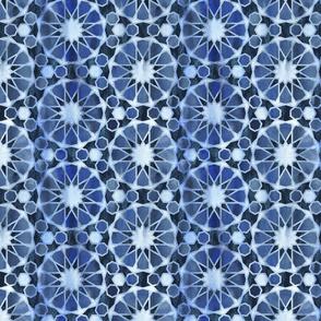 Farah tile Denim Blue