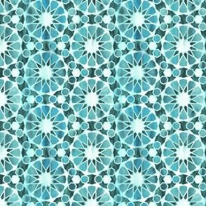 Farah tile Emerald