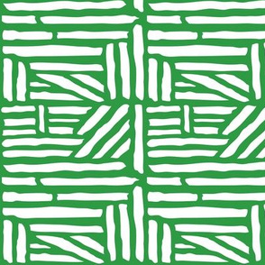 Driftwood - Geometric Kelly Green