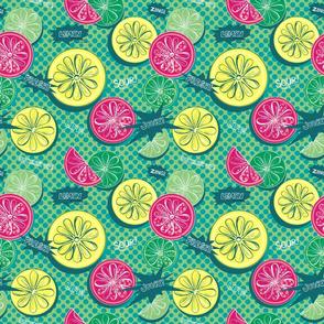 Pop Art Citrus pow!