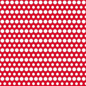 Red and White Dots