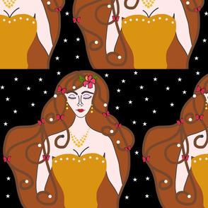 Joy, Stardust Princess #1 - Art Nouveau, large