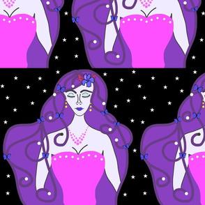 Joy, Stardust Princess #2 - Art Nouveau, large
