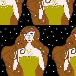 Joy, Stardust Princess #3 - Art Nouveau, large