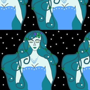 Joy, Stardust Princess #4 - Art Nouveau, large