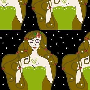 Joy, Stardust Princess #5 - Art Nouveau, large