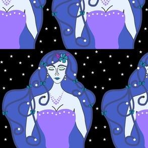 Joy, Stardust Princess #6 - Art Nouveau, large