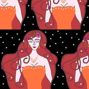 Joy, Stardust Princess #7 - Art Nouveau, large