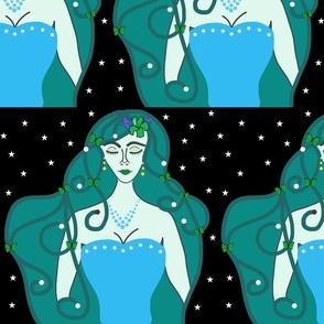 Joy, Stardust Princess #8 - Art Nouveau, large