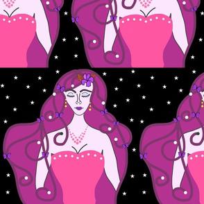 Joy, Stardust Princess #9 - Art Nouveau, large