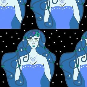 Joy, Stardust Princess #10 - Art Nouveau, large