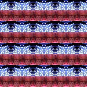 Red & blue stripe lights