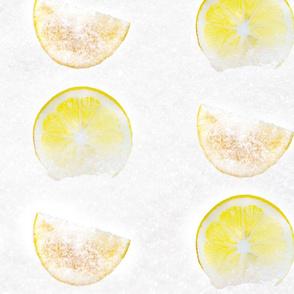 LEMON Heaven Sugar Wedges and Citrus Slices Jumbo print