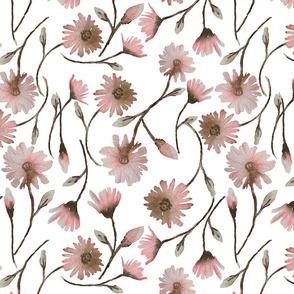 Pink spring white