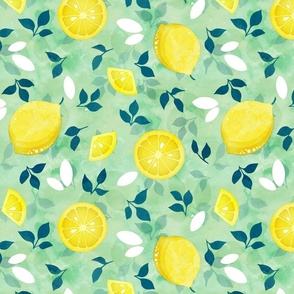 Pop art lemons