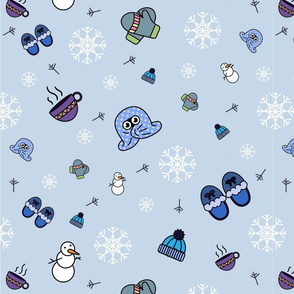 Winter pattern for kids (boys)