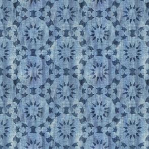 Farah tile 2 light denim