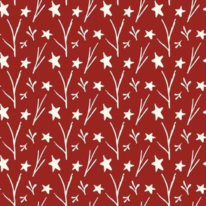 Warm Starry Red