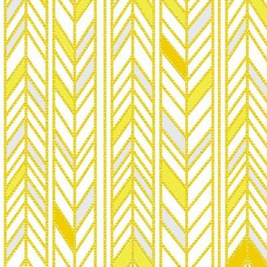 Gold wheat chevron