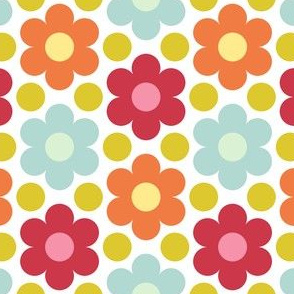 09527632 : circle flowers : spoonflower0229