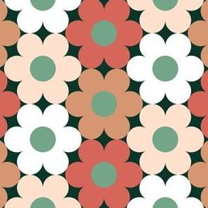 09527699 : S643 circle flowers : spoonflower0386