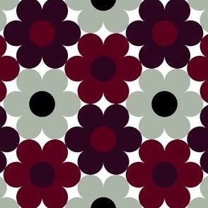 09527802 : S643 circle flowers : spoonflower0444