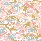 Pastel Marble / Big Scale