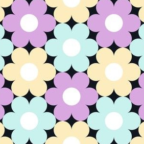 09528638 : S643 circle flowers : synergy0012