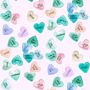 conversation hearts periwinkle