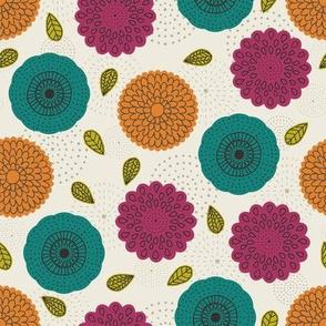 Spring Geometric Florals