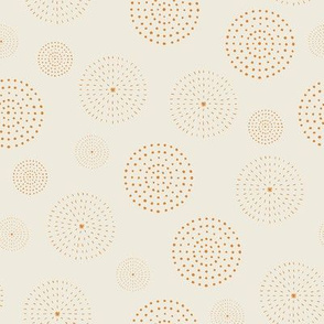 Circles of Dots & Dashes for Spring Geometric Florals