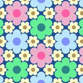 09528911 : circle flowers : summercolors