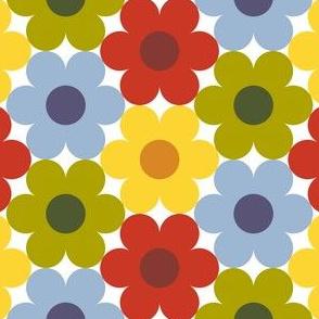 09528913 : S643 circle flowers : autumncolors