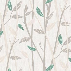 Fall Woodland-Linen