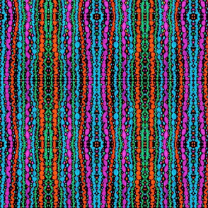 MARDI GRAS BEADS-SC-5CV2 SMALL MIRROR