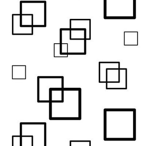 simple abstract squares