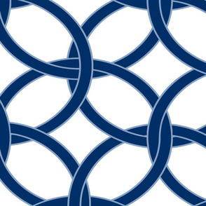 blue and white circles12