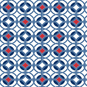 blue, red and white circles0225