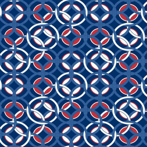 blue, red and white circles1025
