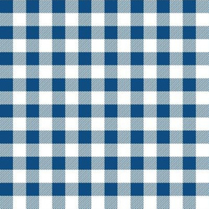 classic blue gingham - 2020, color of the year, buffalo plaid, buffalo check, classic blue, nantucket blue gingham