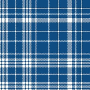 classic blue plaid - baby boy, classic blue, pantone blue, blue plaid, blue gingham, blue check - blue